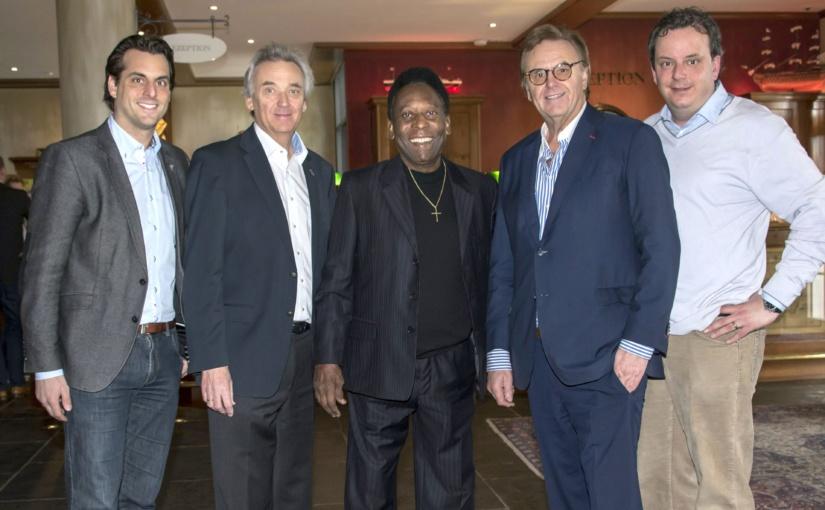 Zu Gast bei den WHD.global 2016: Weltfußballer Pelé besucht Europa-Park