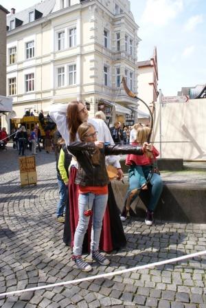 Wie einst im Mittelalter: Historischer Westfalenmarkt