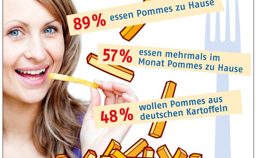 Deutschlands erste Pommes frites Umfrage – Frauen lecken sich die Finger nach Pommes frites