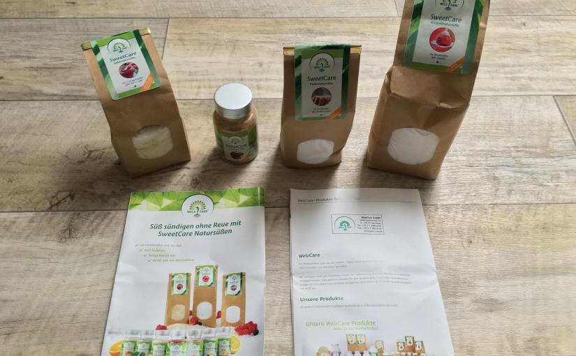 Produkttest – SweetCare Natursüße von WelzCare