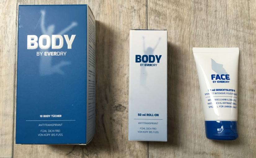 Produkttest mit Gewinnspiel – Antitranspirant-Produkte von EVERDRY
