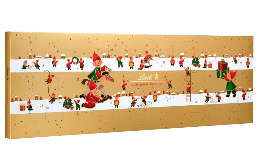 LINDT versüßt die Vorweihnachtszeit mit den beliebten Adventskalendern