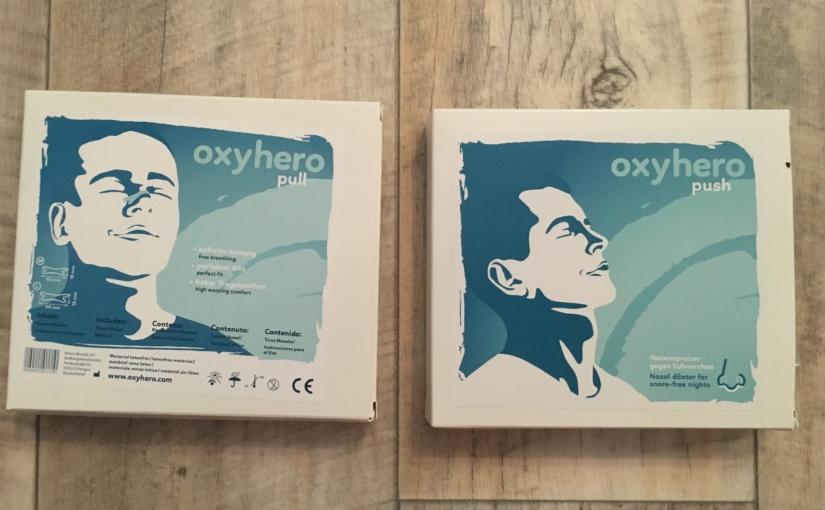 Produkttest – oxyhero pull Nasenpflaster und oxyhero push Nasendilatator aus dem SomniShop