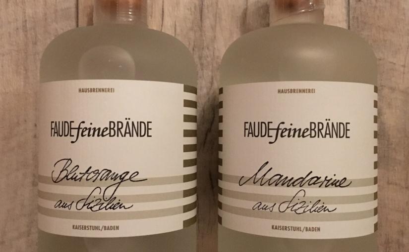Produkttest – Faude feine Brände Blutorange und Mandarine aus Sizilien