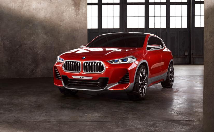 Paris 2016: BMW X2 Concept betont eigenständig