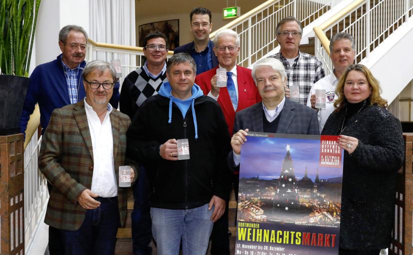 Dortmunder Weihnachtsmarkt 2016 – Glühweinbecher und mehr