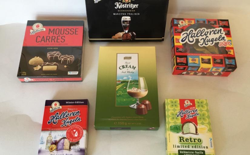 Produkttest – Eine Sortimentsauswahl der Halloren Schokoladenfabrik AG