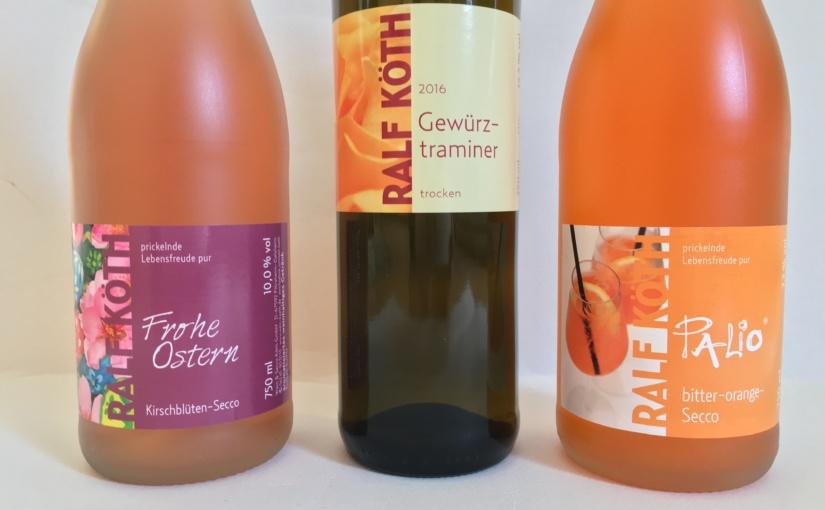 Produkttest – Palio bitter-orange – Sprizz , Gewürztraminer und Palio Frohe Ostern von Wein & Secco Köth