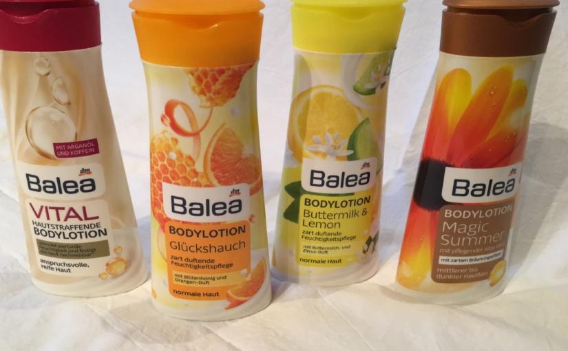 Produkttest – Bodylotions aus der Balea-Serie