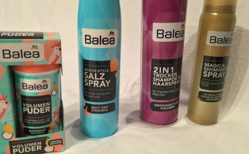 Produkttest – Styling Produkte von Balea