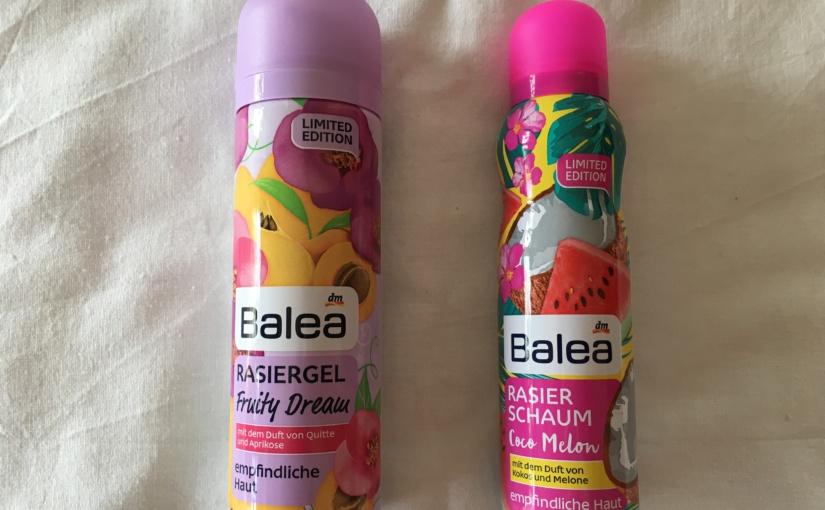 Produktvorstellung – Balea verwöhnt Haut und Sinne bei der Rasur
