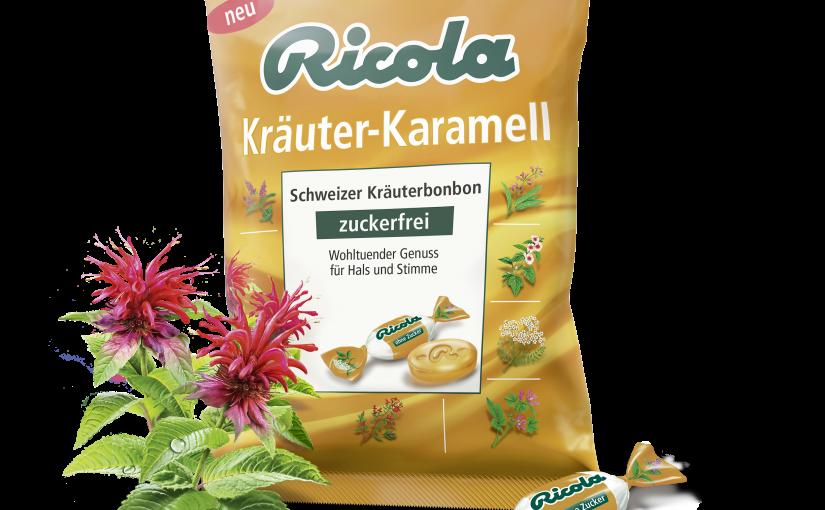 """Produkttest – """"NEU"""" Ricola Kräuter-Karamell"""