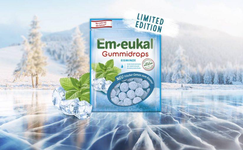 Produkttest – Em-eukal Gummidrops Eisminze