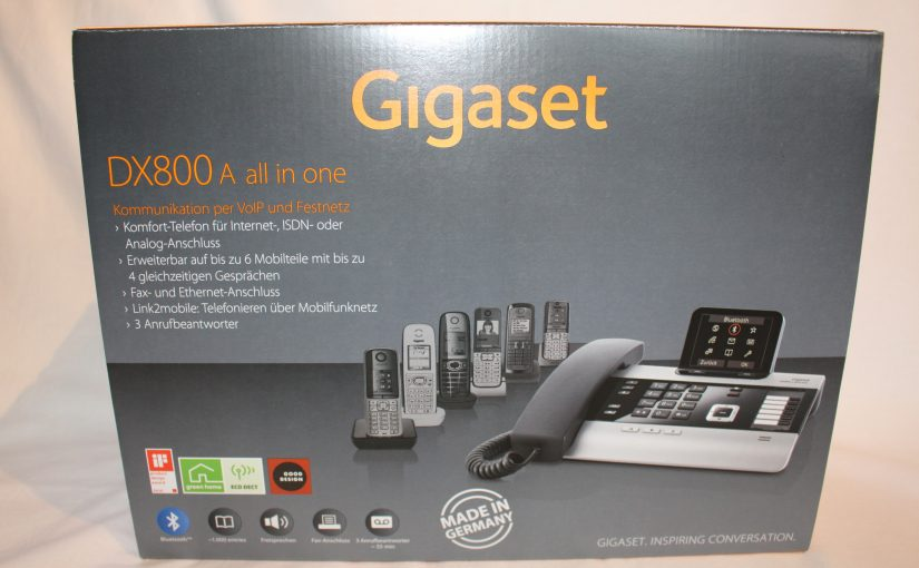 Produkttest – Gigaset DX800A all in one