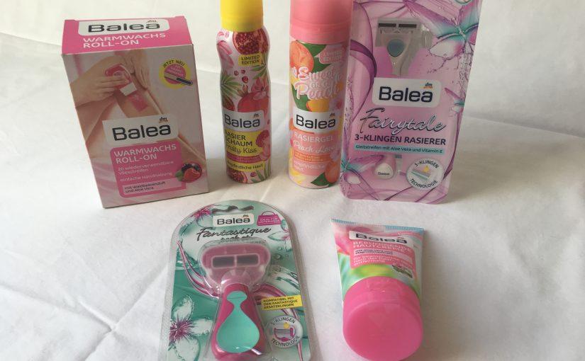 Produkttest – Balea Enthaarungsprodukte