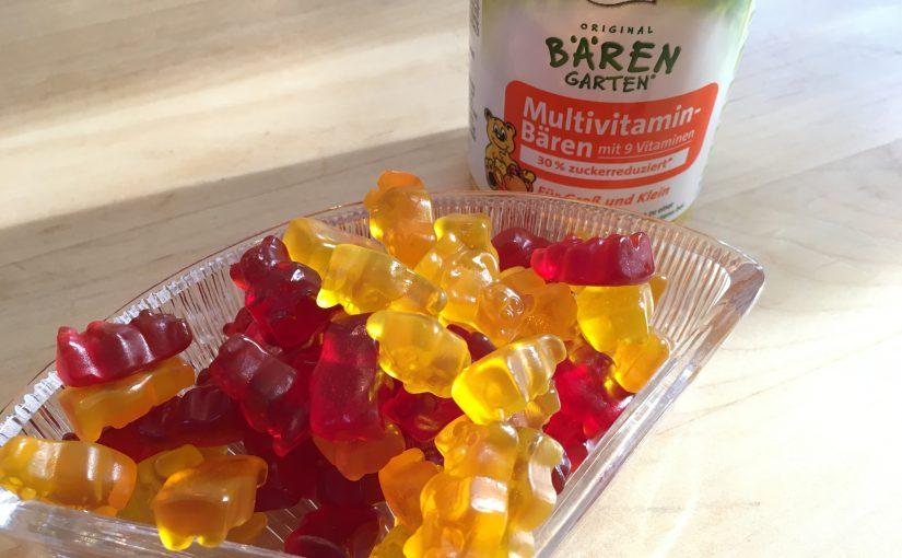 """Nahrungsergänzungsmittel als """"Naschwerk""""? Die Original BÄRENGARTEN Multivitamin-Bären im Test"""