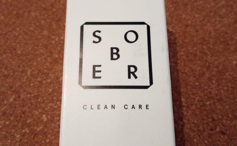 SOBER Clean Care – Gesichtspflegeprodukte für Männer