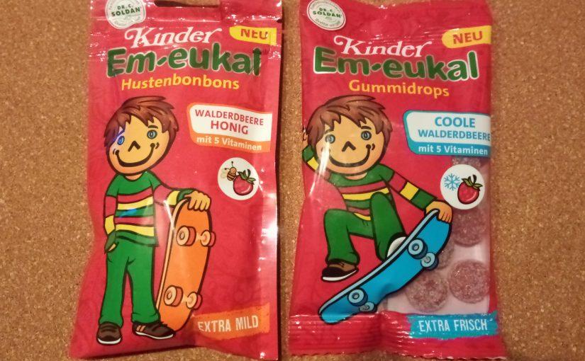 Kinder Em-eukal® mit neuer Geschmacksrichtung Walderdbeere