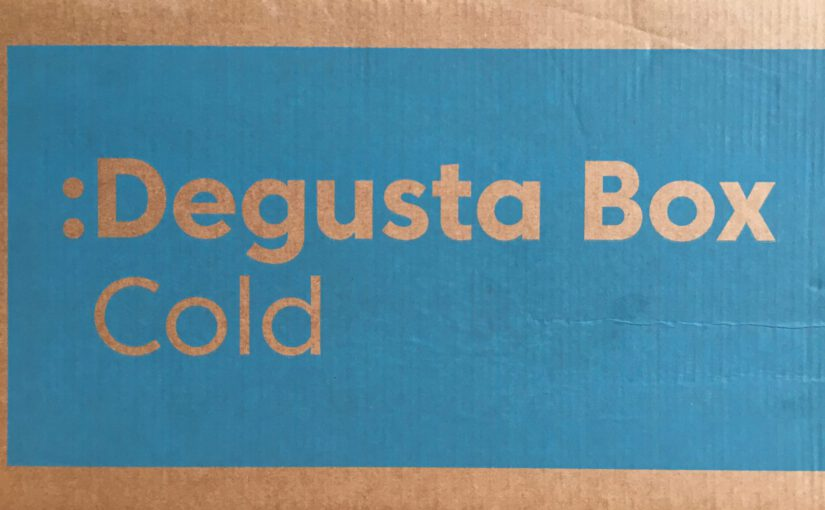 Unboxing der Degusta Box Cold – Limited Edition